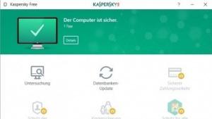 Kaspersky Free soll einen kostenfreien Grundschutz bieten.