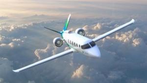 Hybridflugzeug von Zunum Aero
