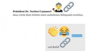 Deutlich anschaulicher als PDF-Protokolle: die Debatten auf OffenesParlament.de