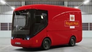 Elektrotransporter der Royal Mail