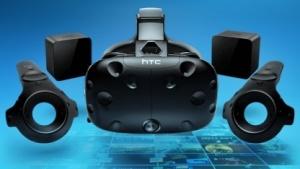 Die erste Version des mit THC entwickelten VR-Headsets Vive