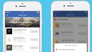 Facebooks neue Bestellfunktion für Essen