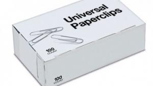 Titelbild von Universal Paperclips