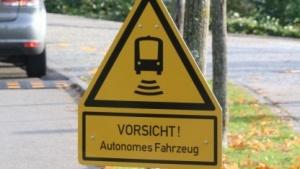 Dieses Verkehrszeichen ist erstmals in Deutschland zu sehen.