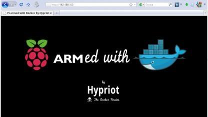 Auch auf dem kleinen Raspberry Pi laufen Container mit Docker.