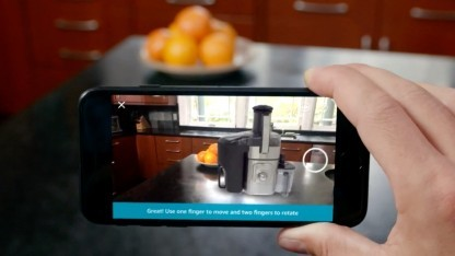 Amazon-App mit AR-Funktion