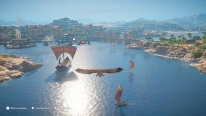 Assassin's Creed Origins braucht für seine Grafikpracht einen schnellen Rechner.