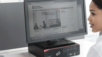 Fujitsu baut Komplettsysteme für Büros.