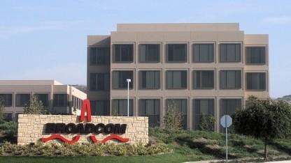 Unternehmenssitz von Broadcom: größte Übernahme in der Chip-Branche