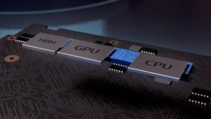 Intels neuer Chip integriert HBM2-Speicher, AMD-GPU und Intel-CPU in einem Package.