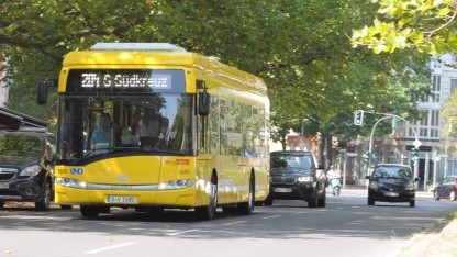 Erstmal fahren sie nicht, die Induktionsbusse mit Bombardiers Primove-Technik.