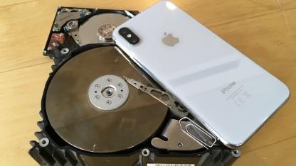 Wie viel Speicher braucht das iPhone?