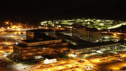 Das Hauptquartier der NSA in Fort Meade, Maryland
