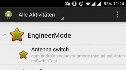Die App Engineermode ermöglicht weitreichenden Zugriff.