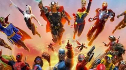 Artwork von Marvel Heroes