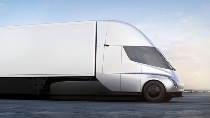 Tesla Semi: geringere Betriebskosten als ein Diesel-Truck