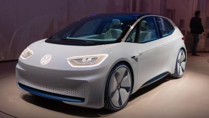 Elektroauto VW ID: Elektroautos aus Zwickau