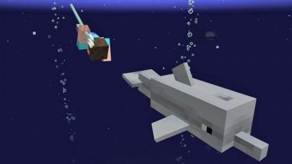 Artwork des The Update Aquatic für Minecraft