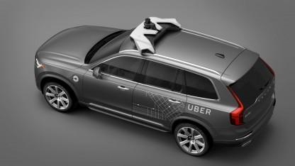 Autonomes Uber-Fahrzeug (Symbolbild): Das einseitige Aufzeichnen von Gesprächen ist in Missouri erlaubt
