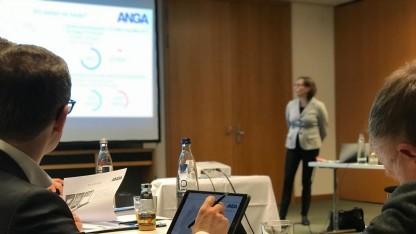 Beim Anga-Gespräch in Berlin