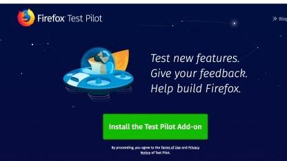 Firefox testet neue Funktionen.
