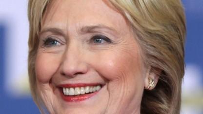 US-Politikerin Hillary Clinton