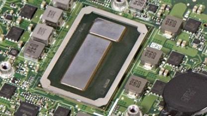 Ein älterer H-Chip, hier ein Core i7-6770HQ alias Skylake