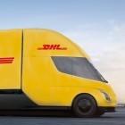 Elektro-Lieferverkehr: DHL bestellt Tesla-Sattelschlepper