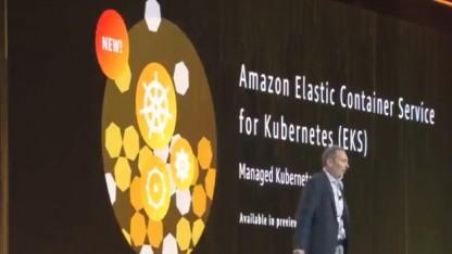 Amazon unterstützt Container mit Kubernetes und ohne Infrastruktur.