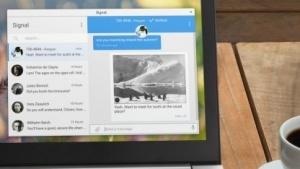 Der Signal-Client für den Desktop ist jetzt eine Electron-App.