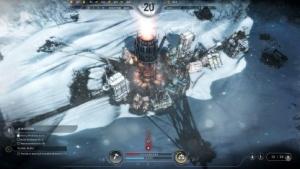 Im Aufbauspiel Frostpunk bauen wir eine Siedlung in ewigem Eis.