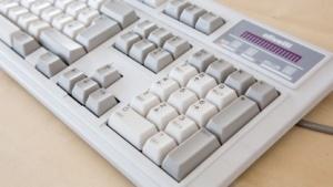 Die Olivetti ANK 27 ist ein Beispiel für eine gute Rubberdome-Tastatur.