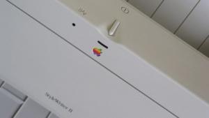 Lange vor der Erfindung von Cups hat Apple auch mal Drucker verkauft.