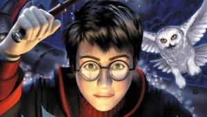 Artwork eines Harry-Potter-Videospiels