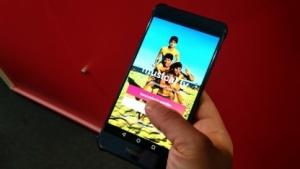 Musical.ly. auf einem Android-Smartphone