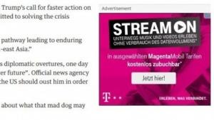 Die Deutsche Telekom wirbt weiterhin intensiv für Stream On.