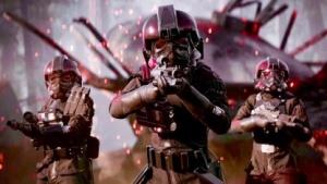 Iden Versio mit dem Inferno Squad in der Kampagne von Star Wars Battlefront 2