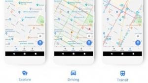 Die unterschiedlichen Ansichten des neuen Google Maps