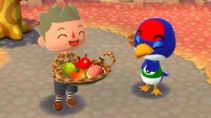 Artwork von Animal Crossing - Pocket Camp sind wir meist in der Natur unterwegs.