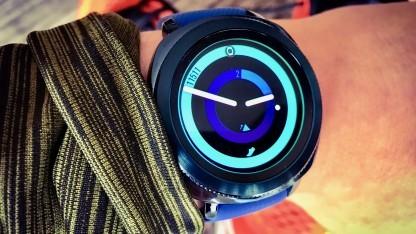 Sportuhr Intervall : Samsung gear sport im test die schlaue sportuhr golem
