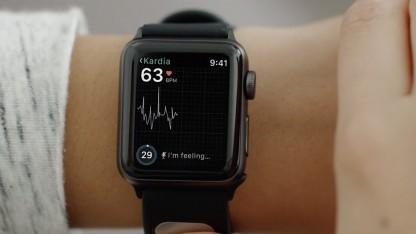 EKG auf einer Apple Watch