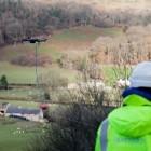 Breitbandinternet: Openreach setzt Drohne bei Verlegung von Glasfaserkabel ein