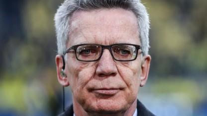 Der geschäftsführende Bundesinnenminister Thomas de Maizière (CDU)