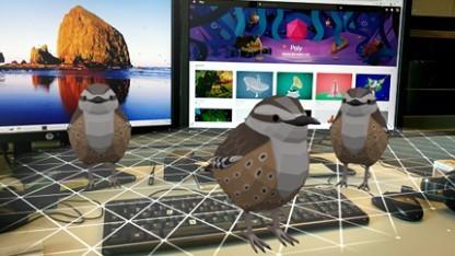 3D-Objekte in der Bibliothek Poly.
