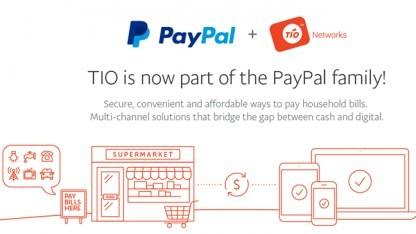 Paypal hat den Betrieb von TIO vorläufig gestoppt.