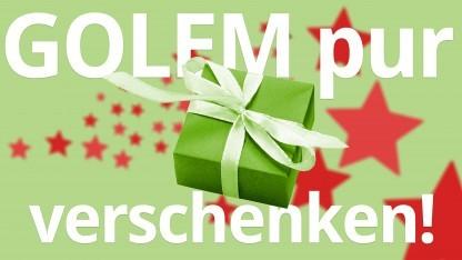 Ein Jahr Golem.de werbefrei verschenken - per Coupon!