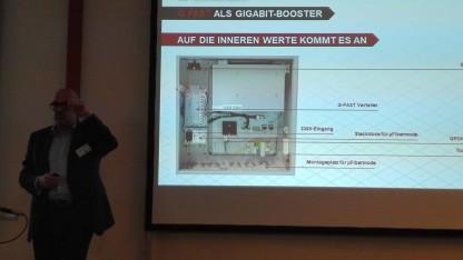 Horst Schmitz, Bereichsleiter Technik bei Netcologne