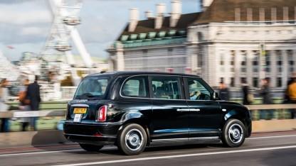 Elektrisches London-Taxi TX5