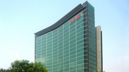 Huawei-Hauptquartier in Shenzhen, China