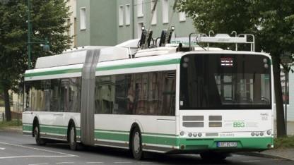 Eberswalde betreibt eines der letzten deutschen Oberleitungsbussysteme.